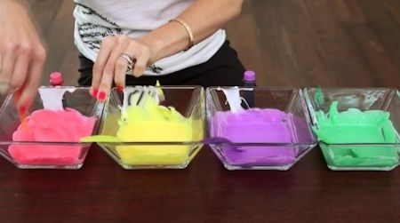 DIY Rainbow Putty