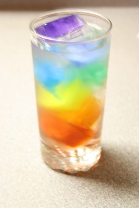 DIY Rainbow Water