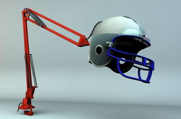 Headwear-Inspired Lamps
