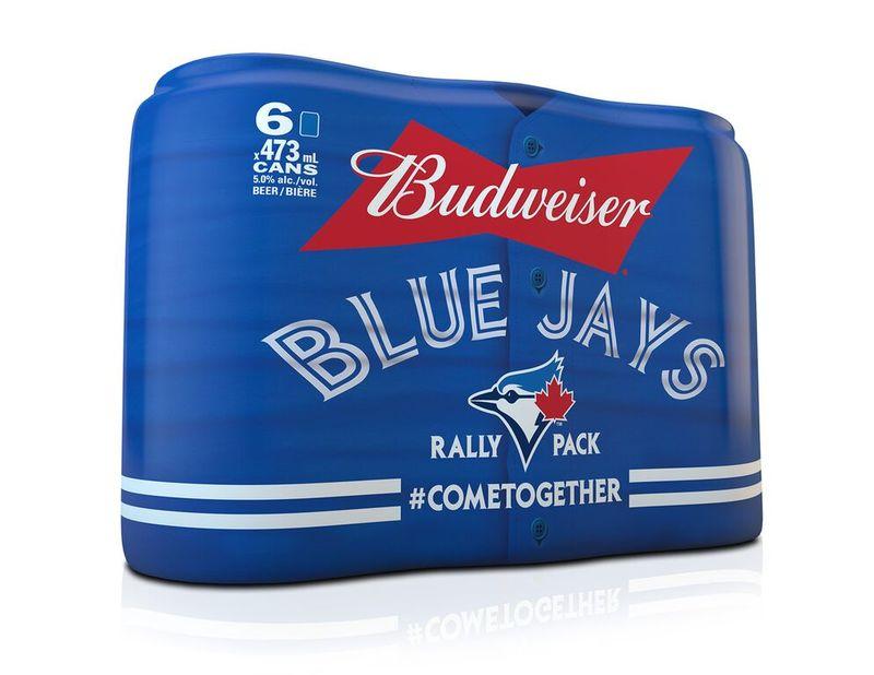 Celebratory Baseball Beer Branding