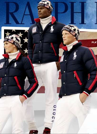 Designer Olympic Outfits The Ralph Lauren Vancouver 2010 Us Olympic