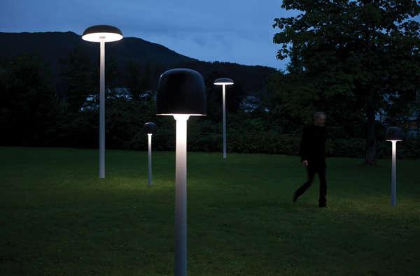 Illuminating Mushroom Lanterns