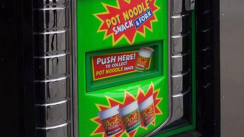 Ramen Noodle Vending Machines