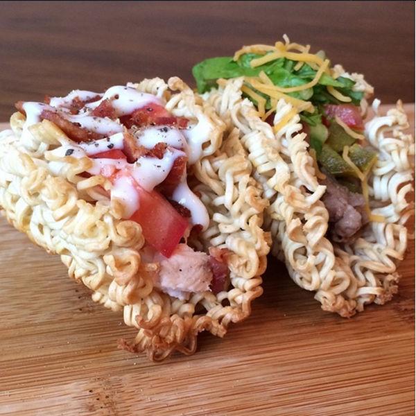 Crispy Ramen Tacos