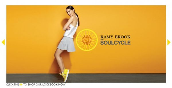 chic cycling clothes   ramy brook for soulcycle