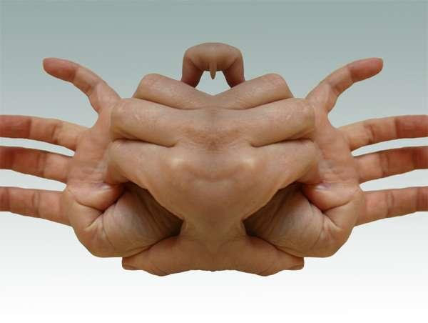 Kaleidoscopic Pretzel Hands