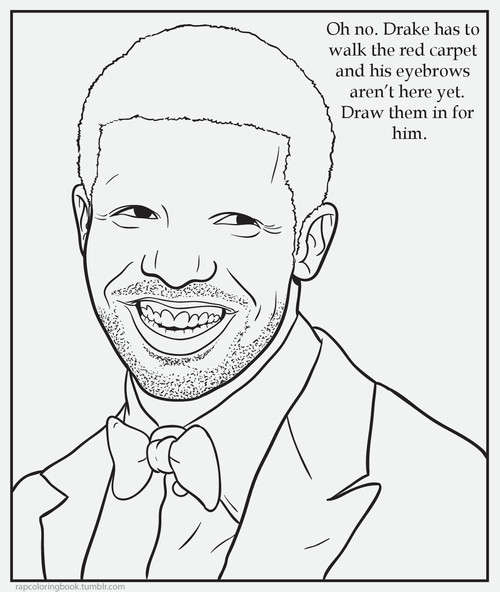 Hip hop cartoon blogs rap coloring book for Rapper coloring pages