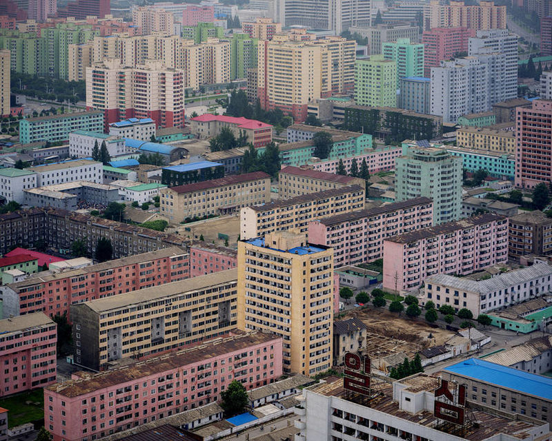 North Korean Architecture Photography