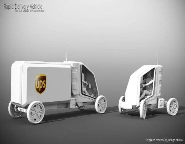 Rapid Delivery Vehicle
