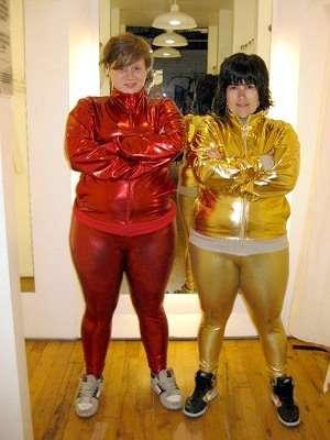 Fat lezbos