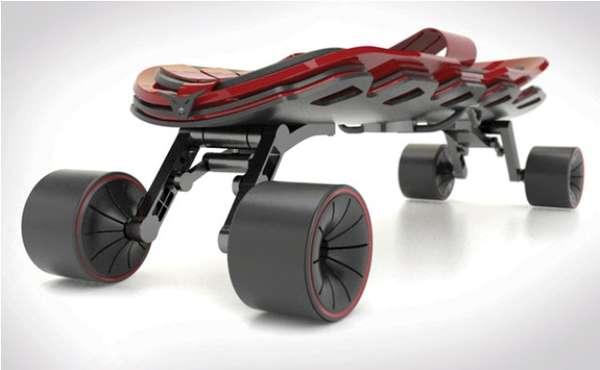 Italian Automaker Skate Decks