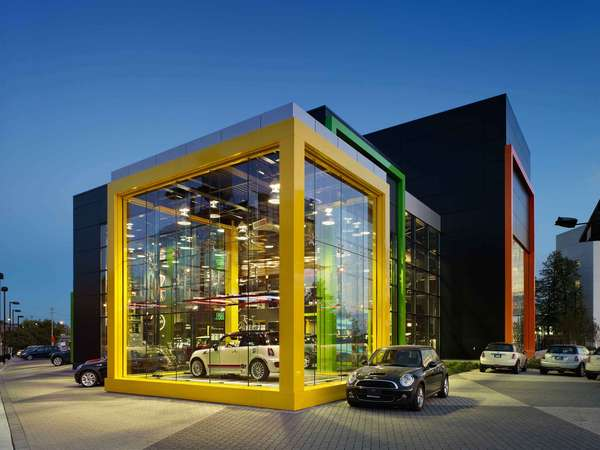 Brightly Hued Autotecture