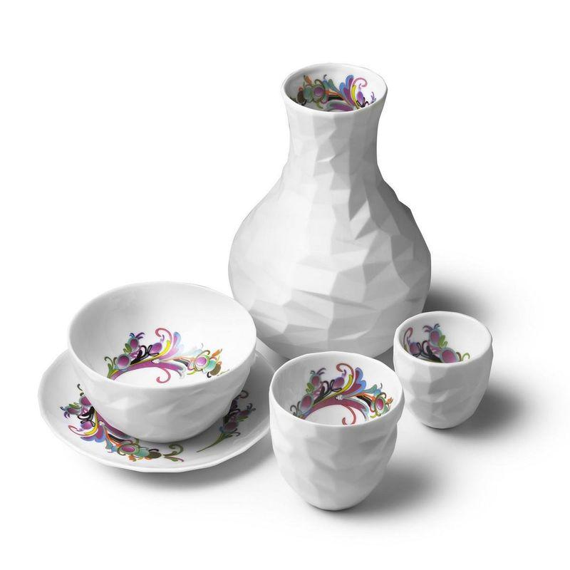 Unpolished Gemstone Dishware