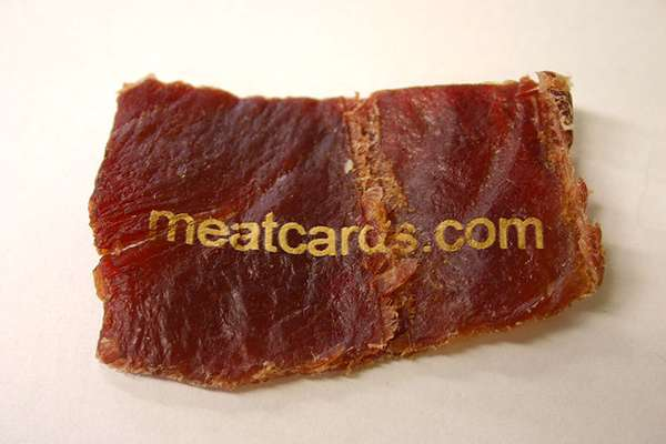 Beef Jerky Business Cards