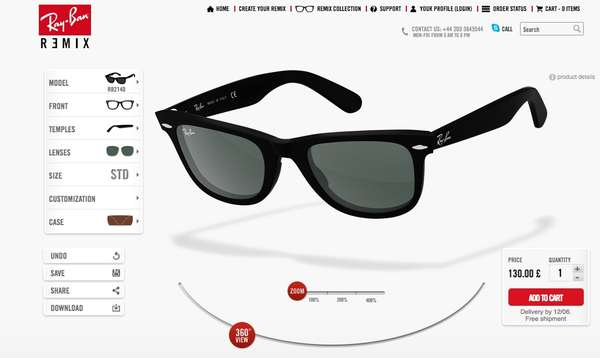 Personal Sunglasses Creation Services