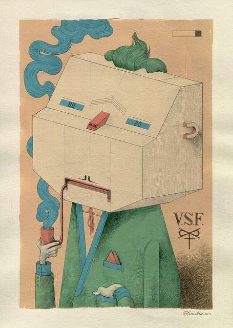 Geometric Robot Portraits (UPDATE)