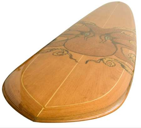 Handmade Wooden Surfboards