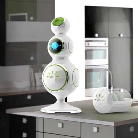 Suds-Saving Robots