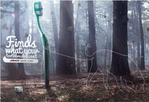 Reach Dental Floss Campaign