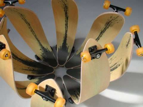 Artvertising Skateboards