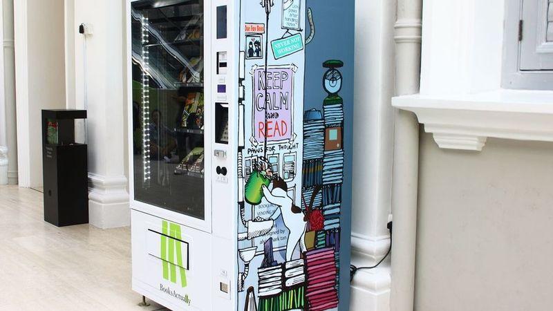 Literary Vending Machines