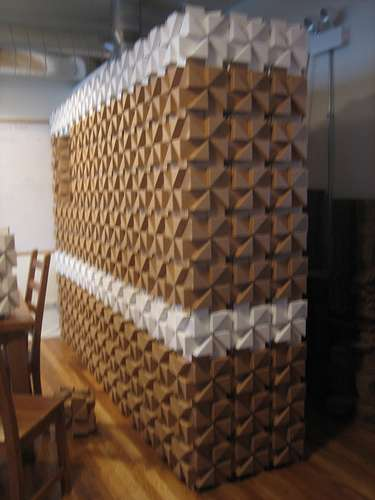Real Cardboard Building Blocks
