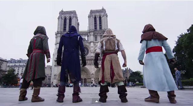 Gamer Stunt Short Films : real life Assassin's Creed parkour