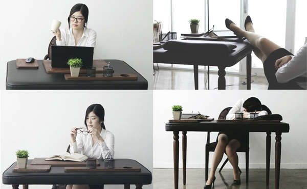 real soft desk by Dawoon Song