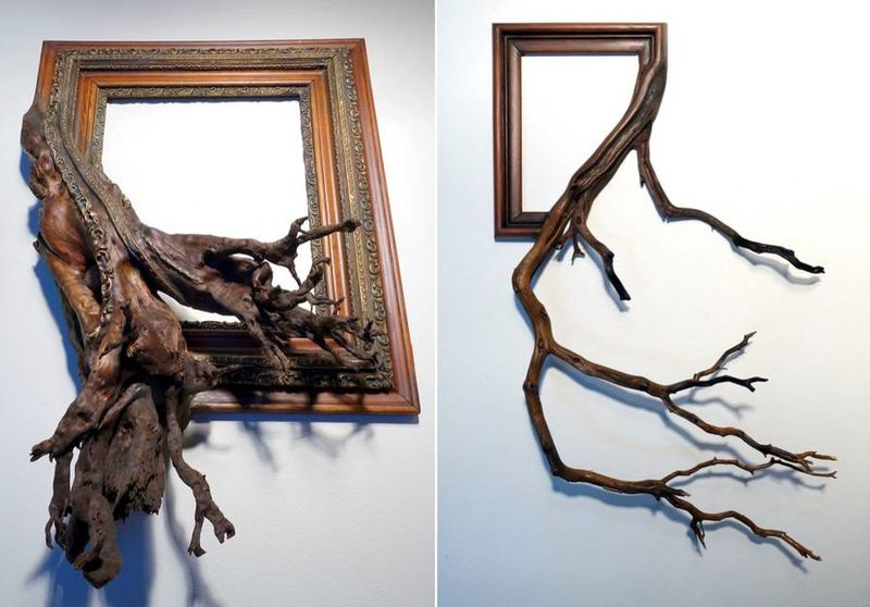Tree Branch Photo Frames