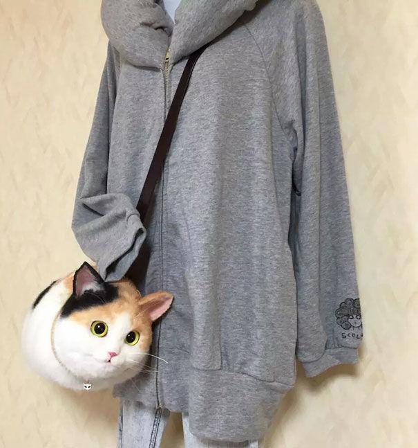 Realistic Cat Bags