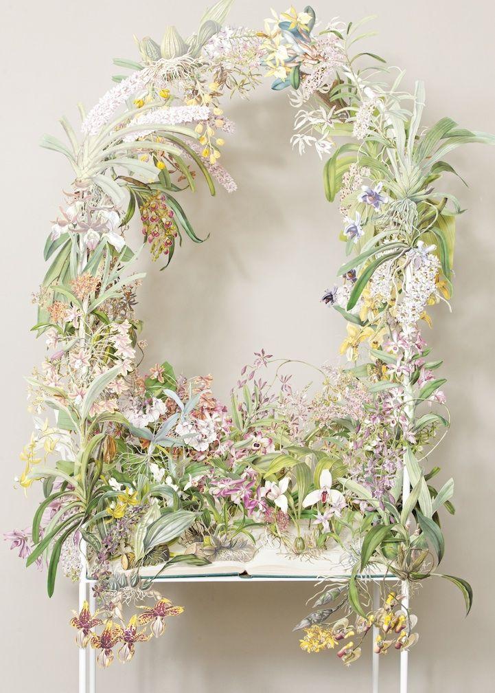 Botanical Paper Sculptures