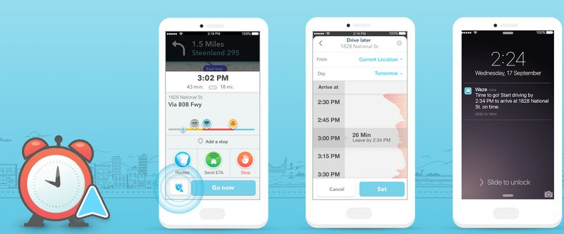 Traffic-Calculating Alarm Apps