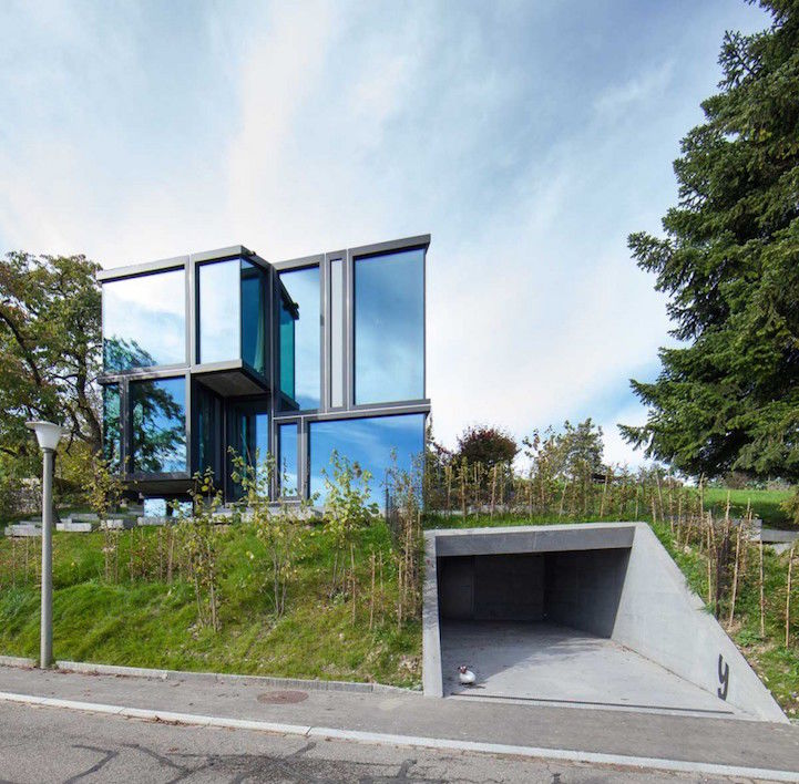 Sculptural Glass Dwellings