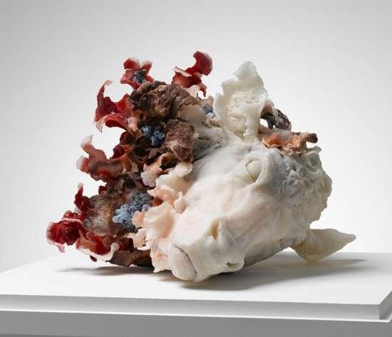 Macabre Floral Sculptures
