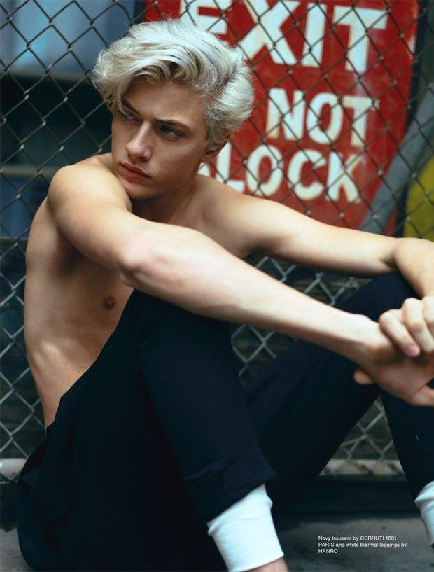 Platinum-Haired Punk Photography