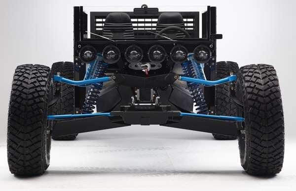 Mechanically Exposed Automobiles