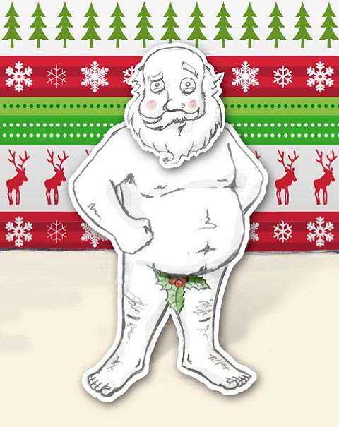 Madeover Santa Greetings