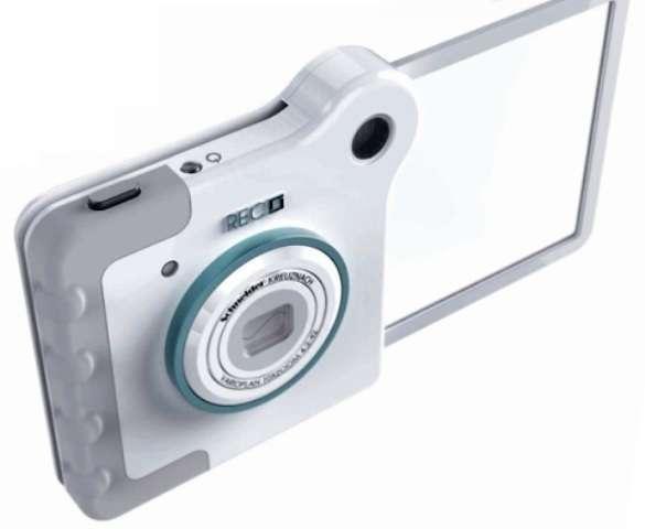 Transparent Camera Displays