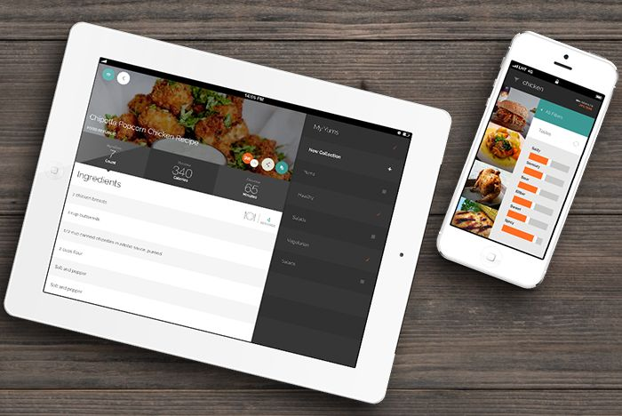 Contextual Recipe Apps