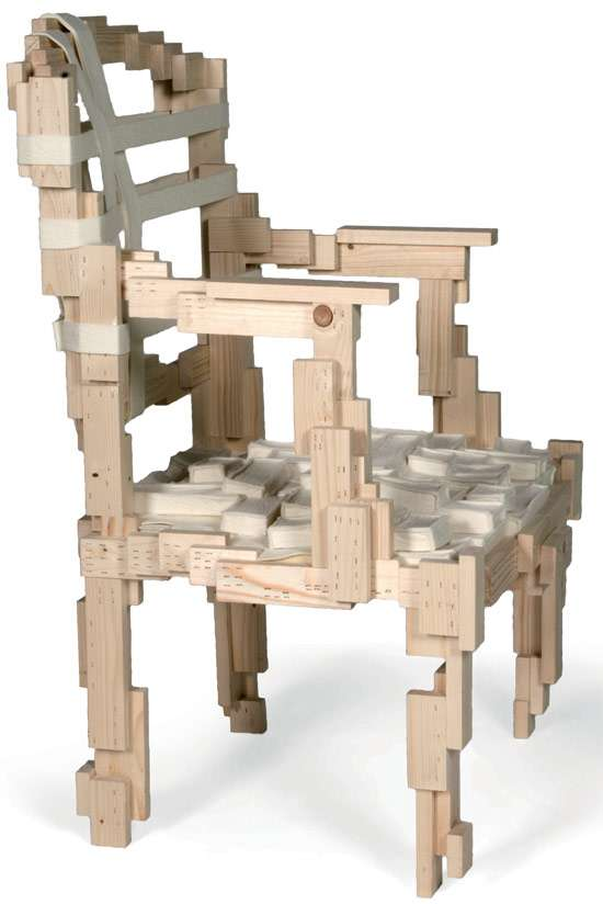 Pixelated Furniture