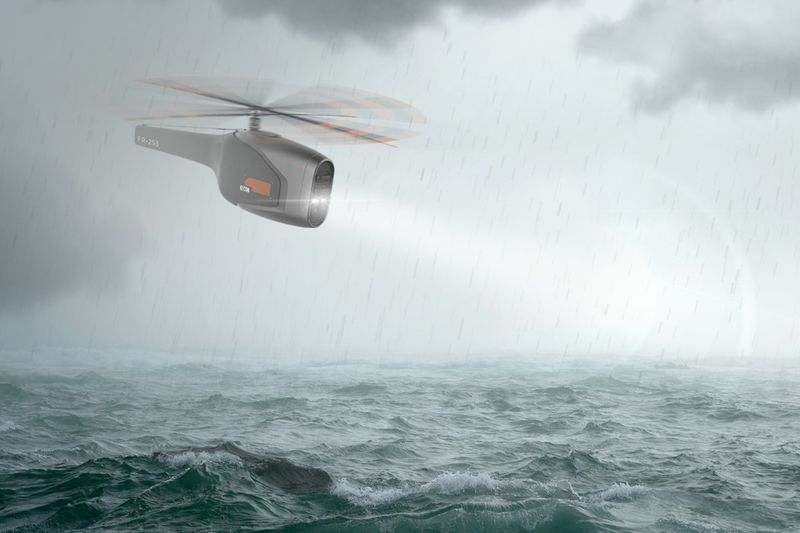 Aquatic Rescue Drones