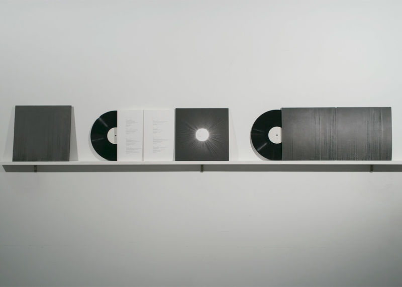 Sound Wave Record Covers