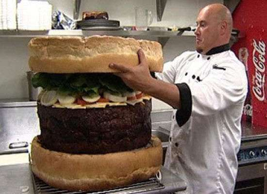 185-Pound Burgers