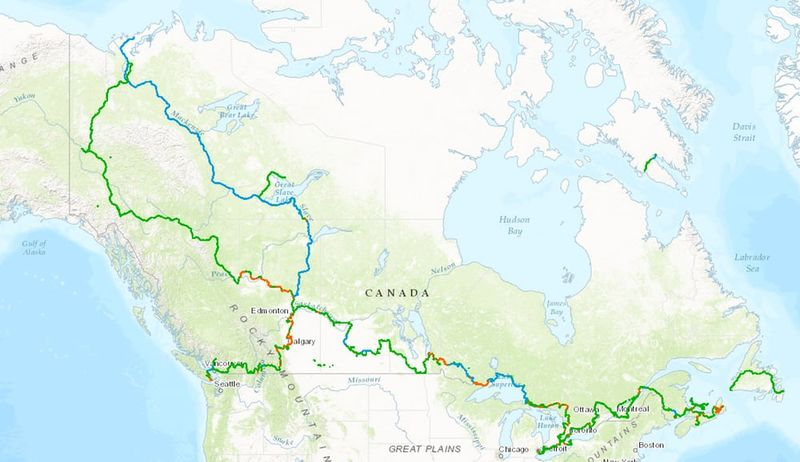 Transcontinental Recreational Trails
