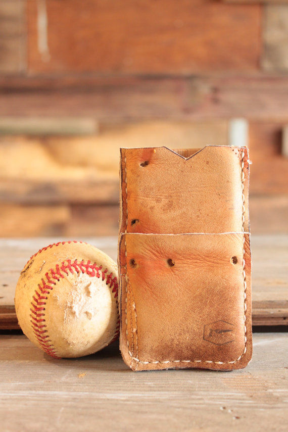 Upcycled Baseball Wallets