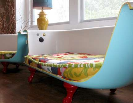 Recycled Bathtub Furniture