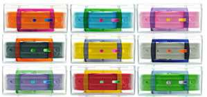 Rainbow Recycled Belts