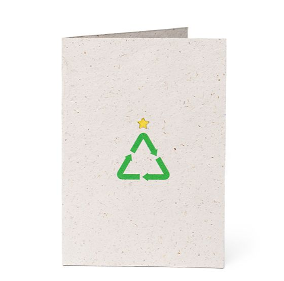 Recycled Evergreen Cards