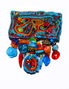 Quirky Recycled Fabric Jewelry