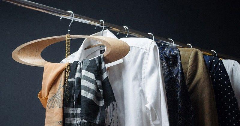 Recycled Cardboard Coat Hangers